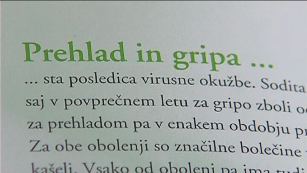 gripa in prehlad