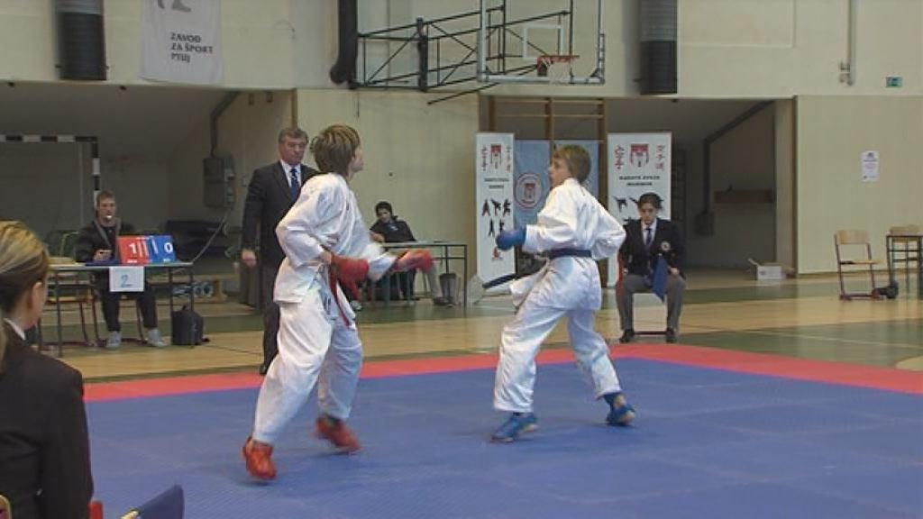 Karate tekmovanje za otroke!