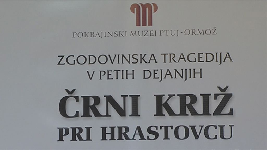 Novinarska konferenca pred predstavo rni kri pri Hrastovcu