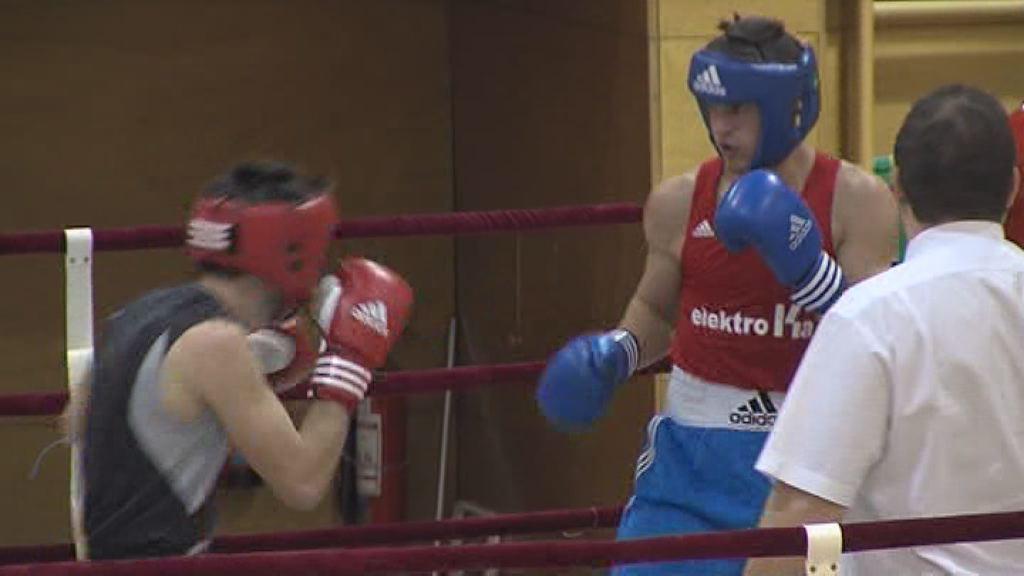 Aleš Kujavec tekmoval na evropskem prvenstvu v boksu