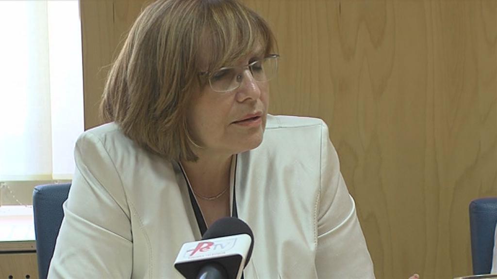 Sekretarka Brigita Čokl na delavnem obisku v ptujski bolnišnici