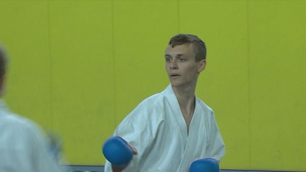 Rok Žgajnar tekmoval na evropskem prvenstvu v karateju