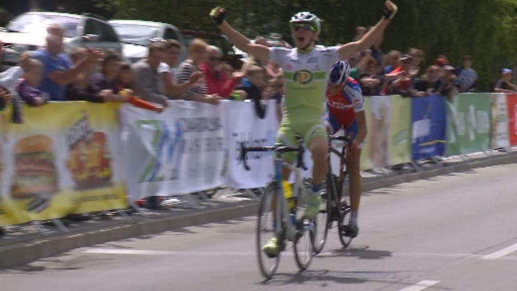 Luka Sagadin državni kolesarski prvak