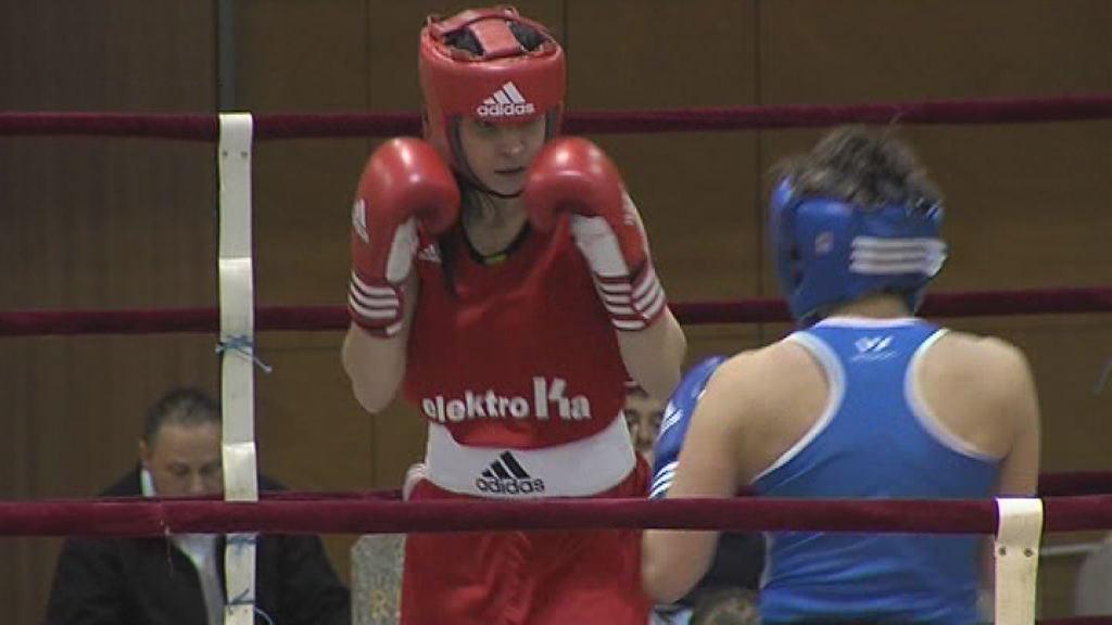 Monika Božičko tekmovala med evropsko boksarsko elito