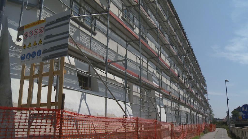 Obnova fasade Minoritskega samostana