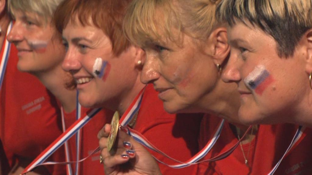 vrnitev zmagovalcev iz gasilske olimpijade