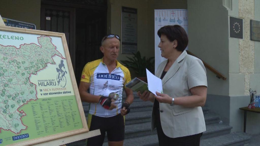 211 lipovih listov za zeleno Slovenijo