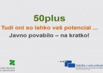 Javno povabilo 50 PLUS