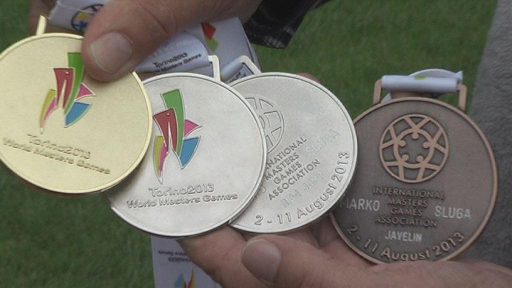 Nove medalje za atleta veterana