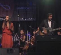 Severa in Gal Gjurin nastopila skupaj z orkestrom Cantabile