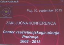 Zaključna konferenca CVŽU Podravje
