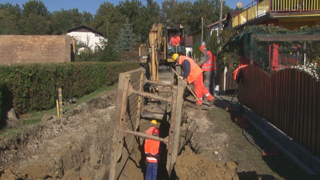 Pričela so se dela pri izgradnji kanalizacijskih sistemov