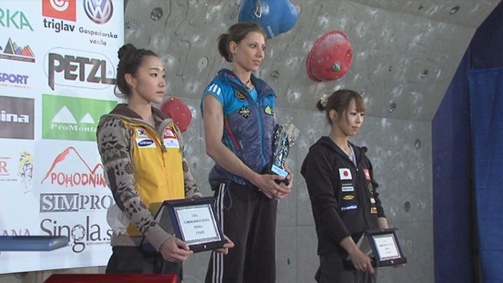 Mina Markovič zmagala v Mokpu
