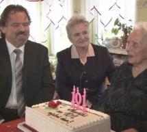 101. rojstni dan Marije Dobravc