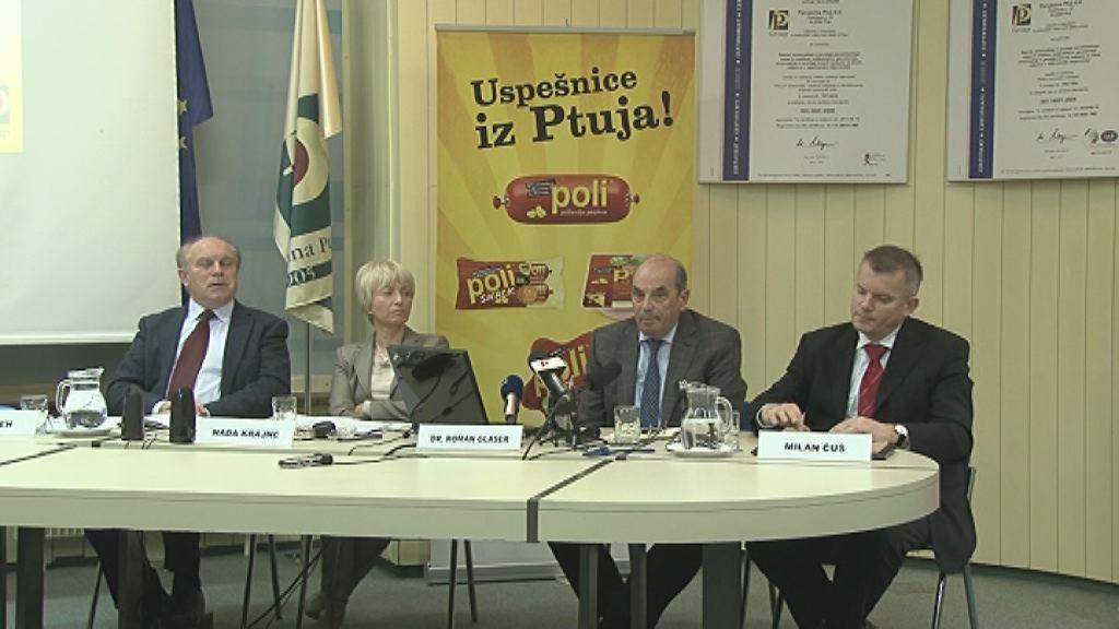 Novinarska konferenca Perutnine Ptuj