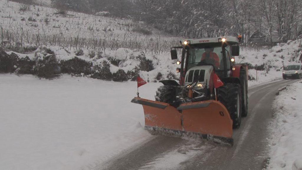 Zimska služba na delu