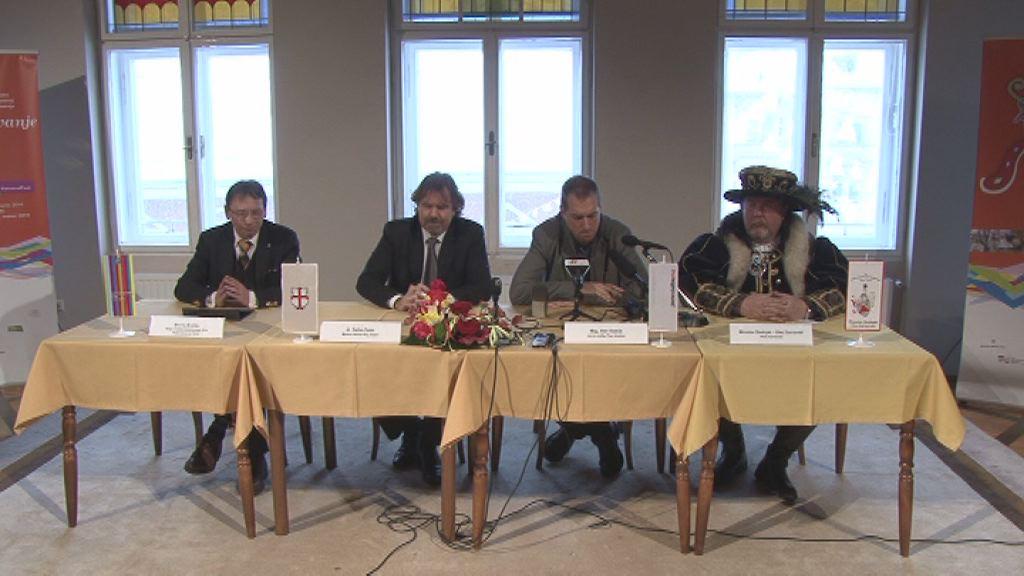 Novinarska konferenca pred Kurentovanjem 2014