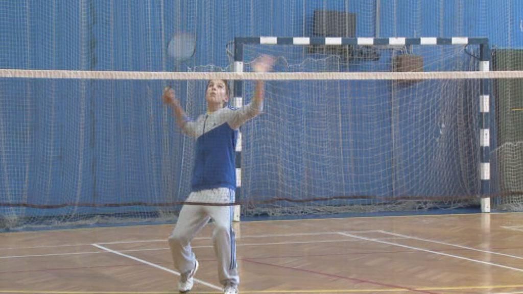 Tekmovanje v badmintonu