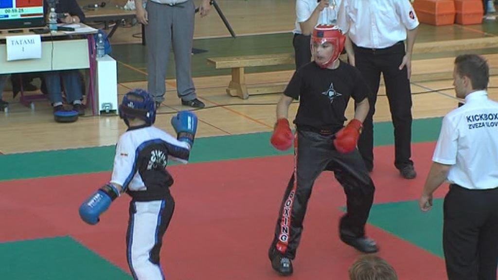 Kickboks - tekmovanje v Bosni