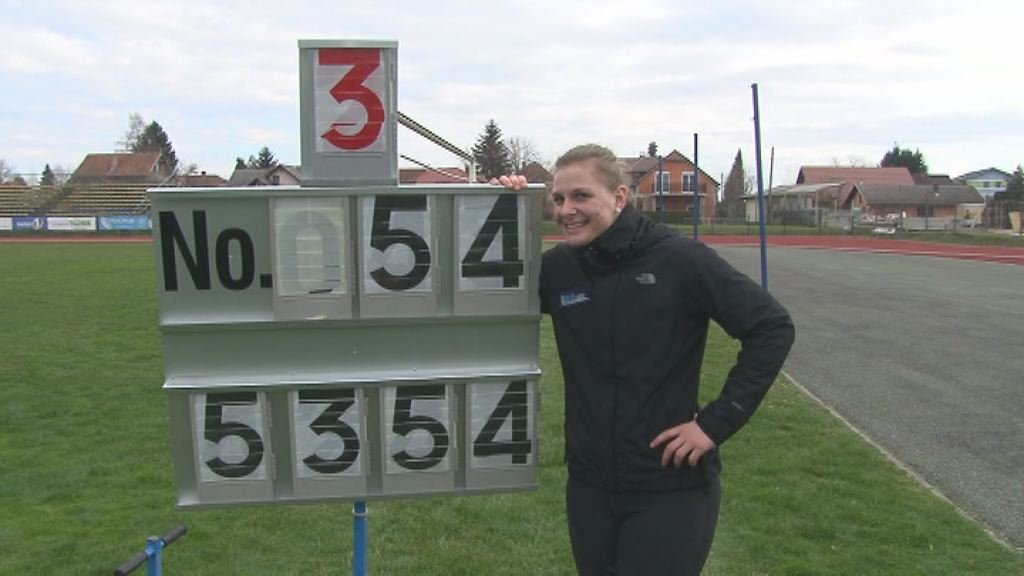 Veronika Domjan - drzavni rekord