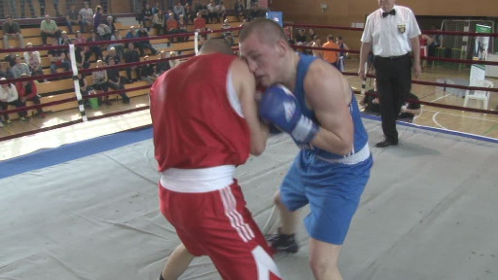 Denis Lazar - drzavni prvak v boksu
