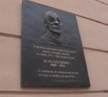 Spominska plošča dr. Alojziju Remcu