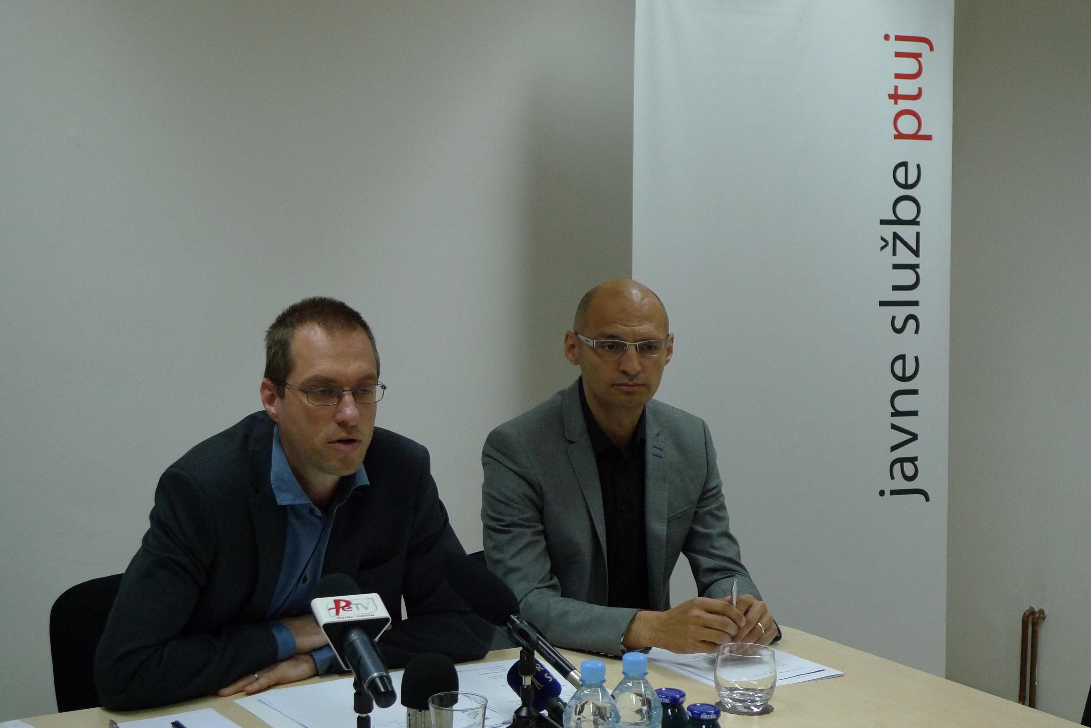 Novinarska konferenca - Javne sluzbe Ptuj