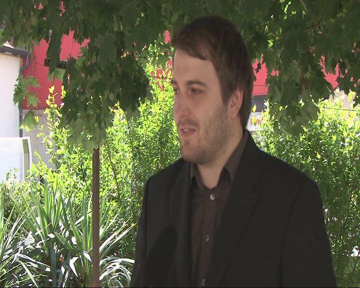 Novinarska konferenca Andreja Cusa