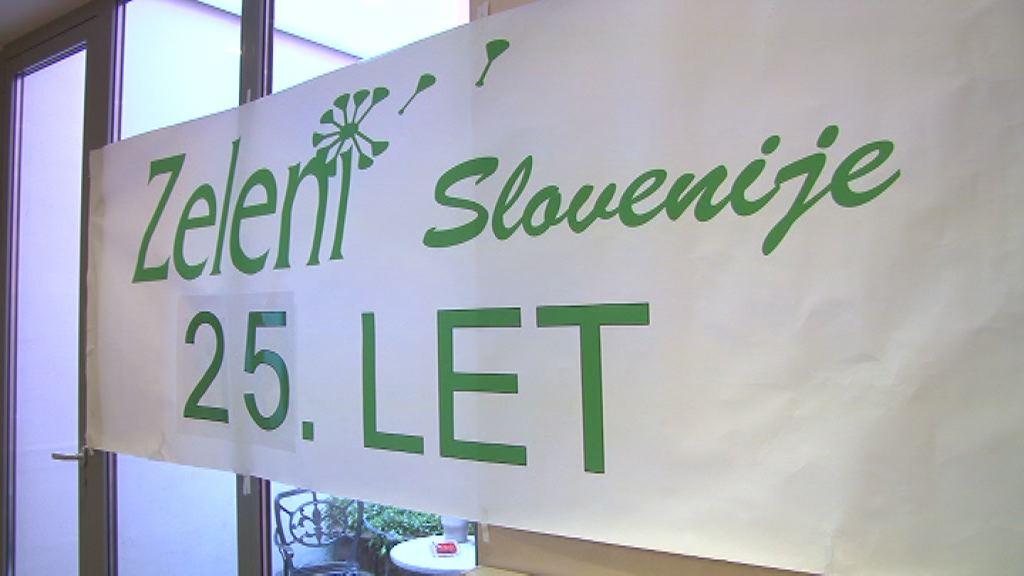 Zeleni Slovenije praznovali petindvajset let delovanja