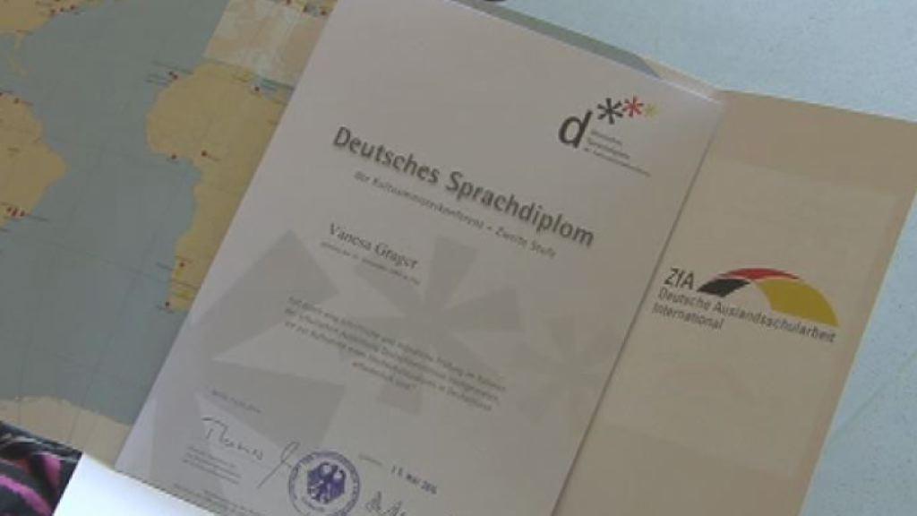 27 dijakov prejelo nemške jezikovne diplome