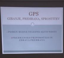 Gibanje, prehrana, sprostitev – GPS