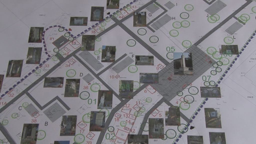 Nacrt starega mestnega pokopalisca