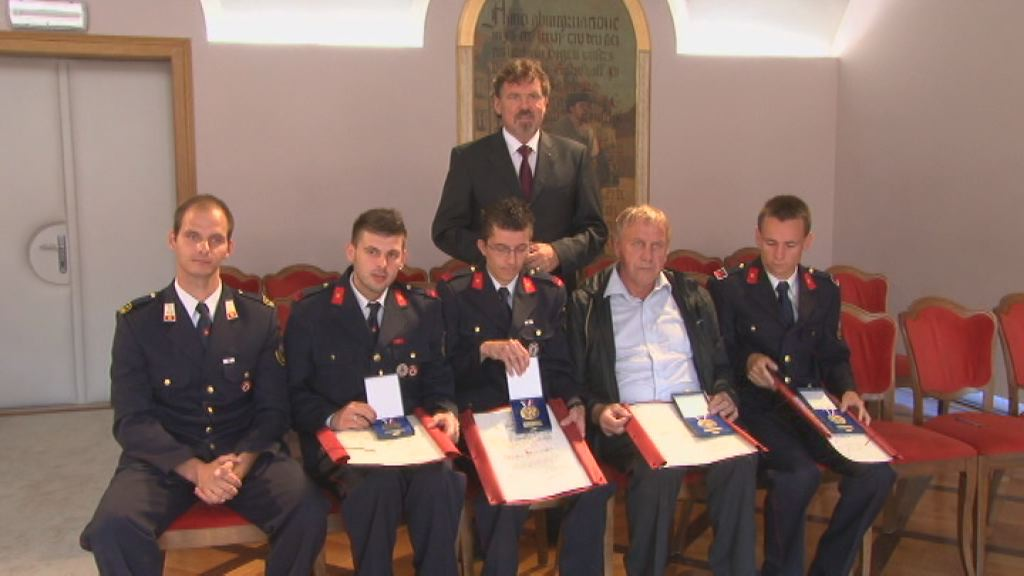 Nagrade za ptujske gasilce