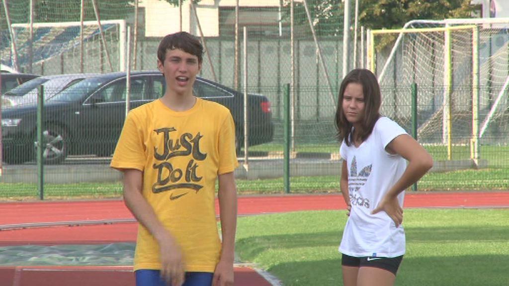 Jaka Kostanjevec in Maja Bedrac