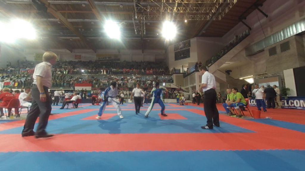 SP v kickboksu v Riminiju