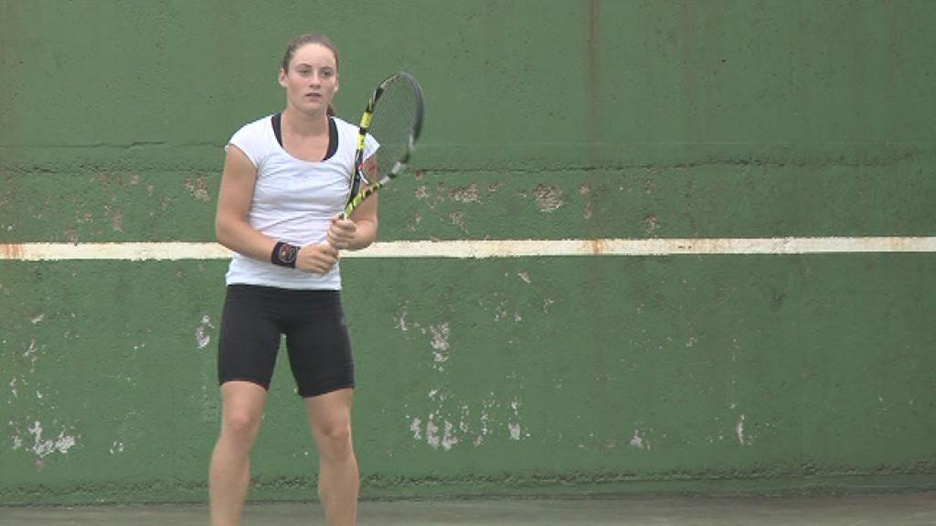 Tamara Zidansek je igrala v New Yorku