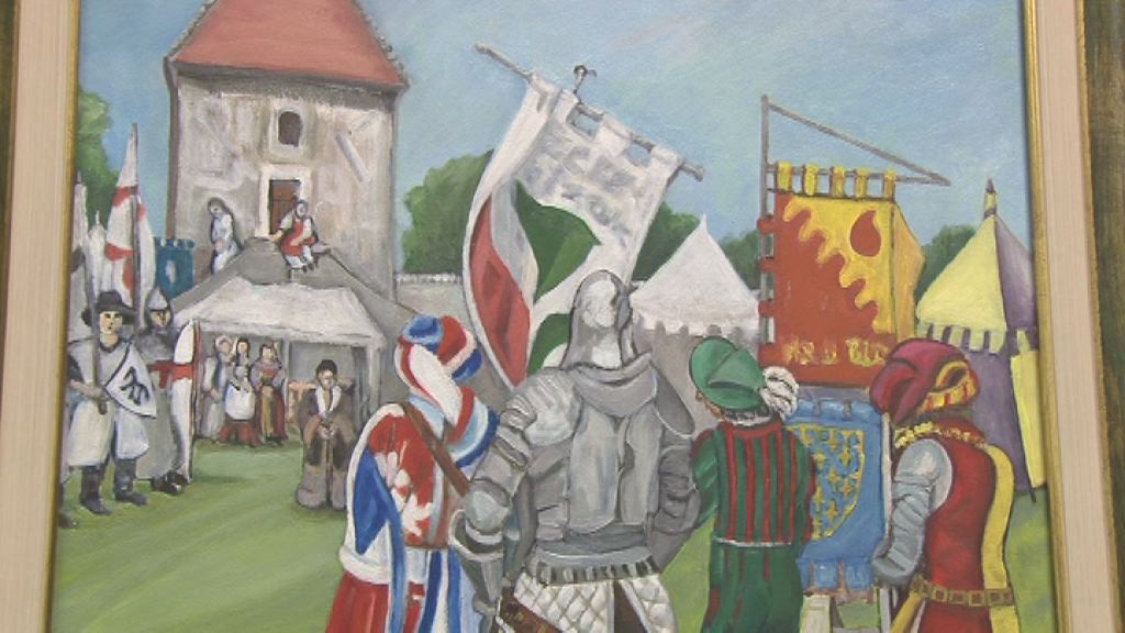 razstava srednjeveski motivi
