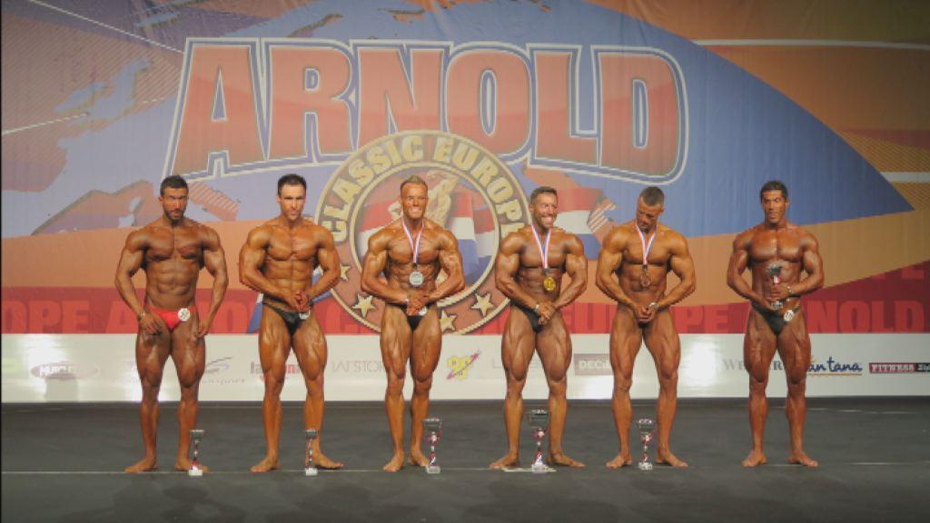 Boštjan Renko drugi na tekmovanju Arnold Classic Europe 2014