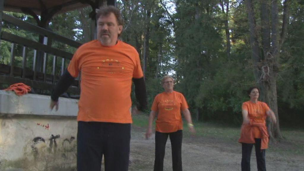 vadba v ljudskem vrtu
