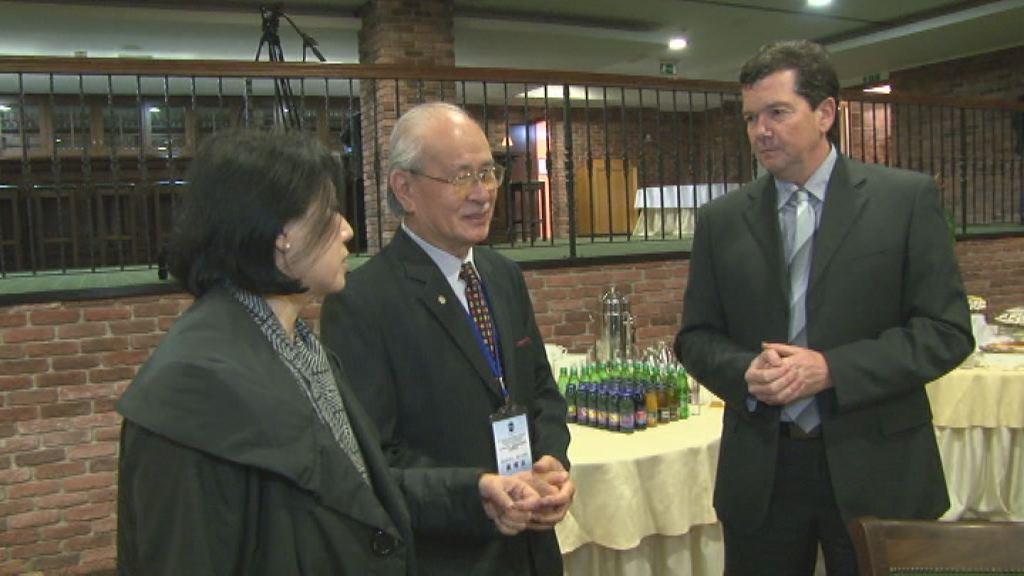 Tajvanska delegacija gospodarstvenikov
