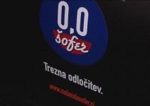 """Preventivna akcija """"0,0 šofer – trezna odločitev"""""""