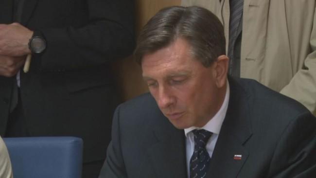 Borut Pahor o stanju v Sloveniji