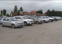 Parkiranje obiskovalcev v času 55. Kurentovanja