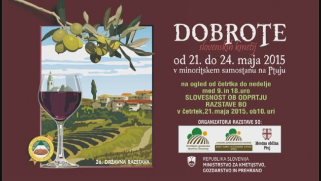 Dobrote slovenskih kmetij 2015 - plakat