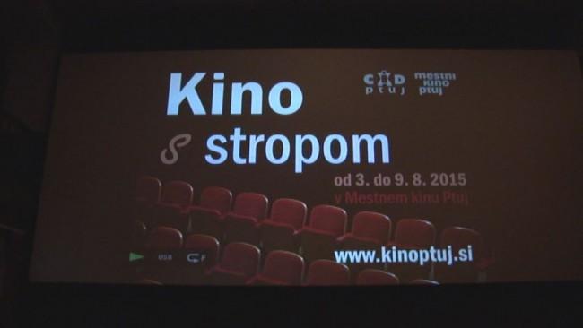 Kino s stropom obiskalo okrog 1200 gledalcev