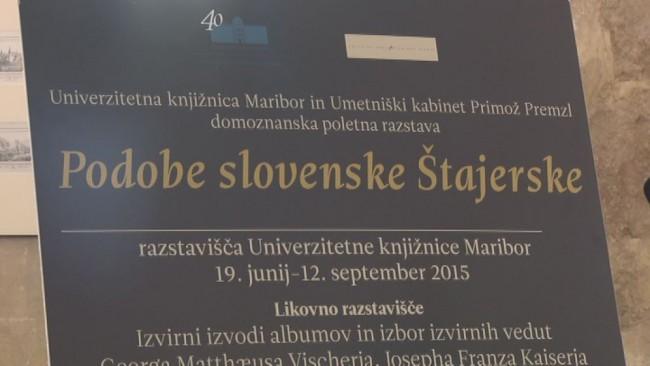 Podobe slovenske Stajerske - razstava