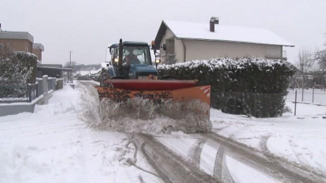 Zimske službe opravljajo svoje delo