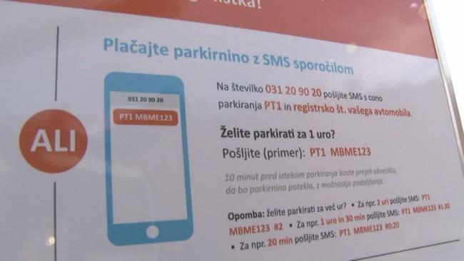 SMS – plačevanje parkirnine na Ptuju