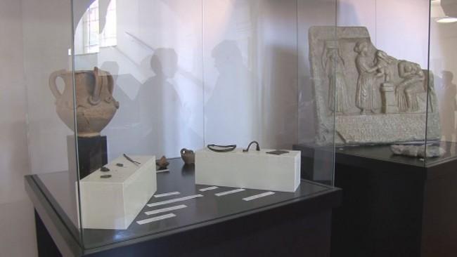 Razstava o arheoloških najdbah z območja Panorame