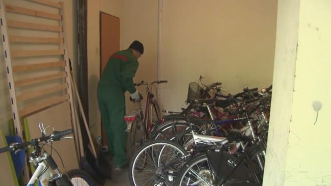 Zbiranje starih zavrženih koles